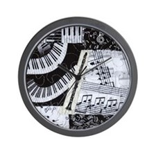 0562-ipadhard-clarinet Wall Clock