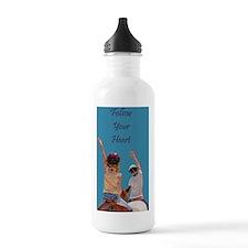 Follow Your Heart Hors Water Bottle