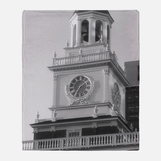 Independence Hall Throw Blanket