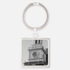 Independence Hall Square Keychain