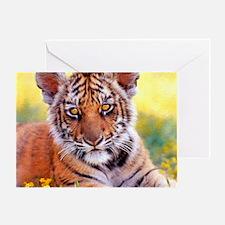 Tiger Baby Cub Greeting Card
