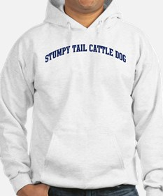 Stumpy Tail Cattle Dog (blue) Hoodie