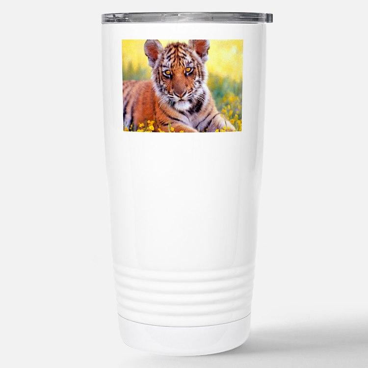 Tiger Baby Cub Travel Mug