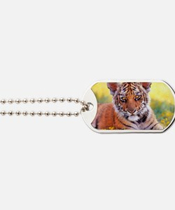 Tiger Baby Cub Dog Tags