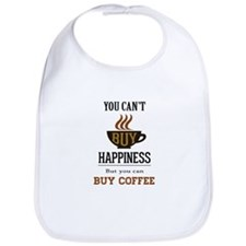 Happiness - Buy Coffee Bib