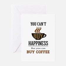 Happiness - Buy Coffee Greeting Cards (Pk of 20)