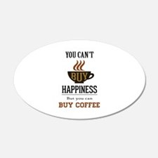 Happiness - Buy Coffee Wall Decal