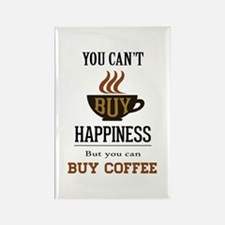 Happiness - Buy Coffee Rectangle Magnet
