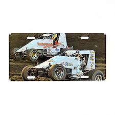 January Aluminum License Plate