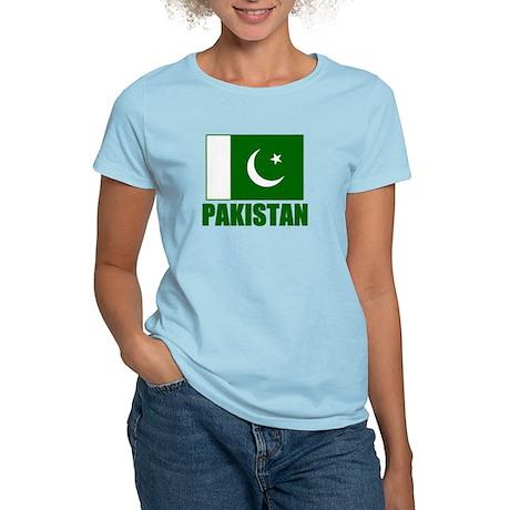 Pakistan Flag Women's Light T-Shirt