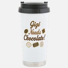 Gigi Chocolate Stainless Steel Travel Mug