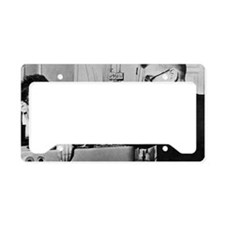 Vavilov and colleagues, Mosco License Plate Holder