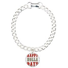 Happy Holla Days Charm Bracelet, One Charm