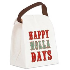 Happy Holla Days Canvas Lunch Bag