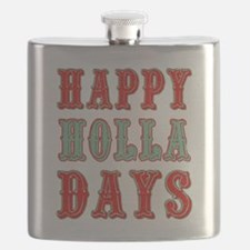 Happy Holla Days Flask
