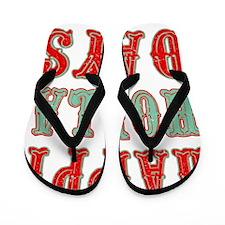 Happy Holla Days Flip Flops