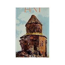 ANI, Armenian Capital Rectangle Magnet