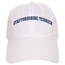 Staffordshire Terrier (blue) Baseball Cap