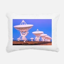 Very Large Array (VLA) r Rectangular Canvas Pillow