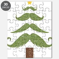 Mustache Tree Puzzle