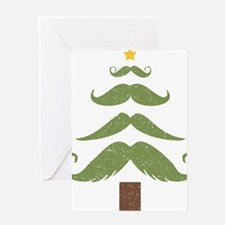 Mustache Tree Greeting Card