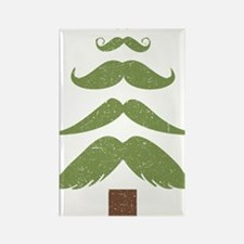 Mustache Tree Rectangle Magnet