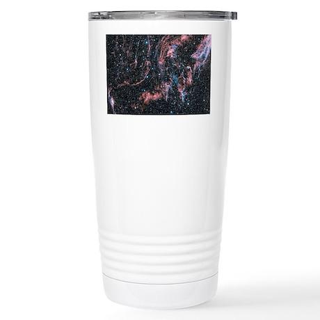 Veil nebula supernova r Stainless Steel Travel Mug