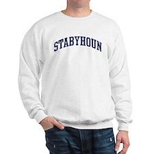 Stabyhoun (blue) Sweatshirt