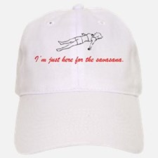 Im just here for the savasana Baseball Baseball Cap