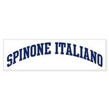 Spinone Italiano (blue) Bumper Bumper Sticker