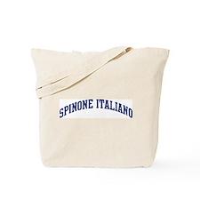 Spinone Italiano (blue) Tote Bag