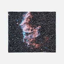 Veil nebula supernova remnant Throw Blanket