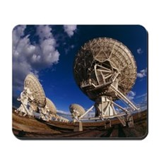 Very Large Array (VLA) radio antennae Mousepad