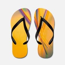 View of several acupuncture needles Flip Flops