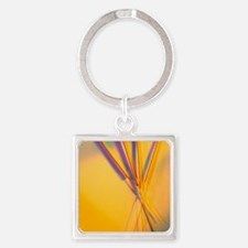 View of several acupuncture needle Square Keychain