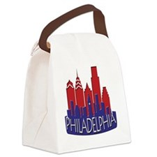 Philly Skyline Newwave Patriot Canvas Lunch Bag
