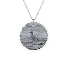 A Seagull  Necklace