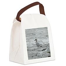 A Seagull  Canvas Lunch Bag