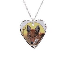 Ethiopian Wolf Necklace