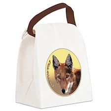 Ethiopian Wolf Canvas Lunch Bag