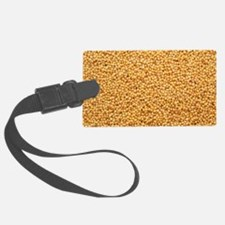 View of hulled millet (Panicum m Luggage Tag