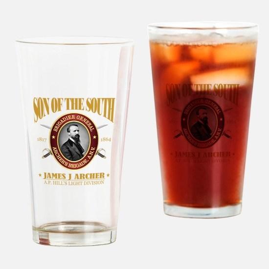 James J Archer (SOTS2) Drinking Glass