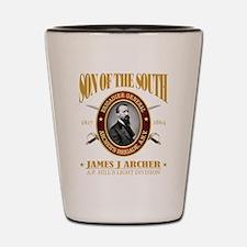 James J Archer (SOTS2) Shot Glass
