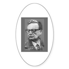 Allende Oval Decal