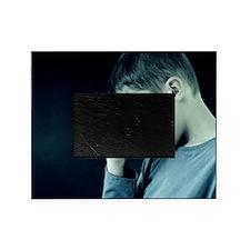 Unhappy boy Picture Frame