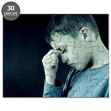 Unhappy boy Puzzle