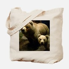 Momma Bear and Cub Tote Bag