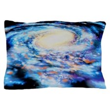 View of our Milky Way galaxy Pillow Case