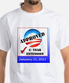 Obama Approval Rating Inauguratio Shirt
