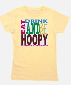 Eat, Drink and Be Hoopy Girl's Tee